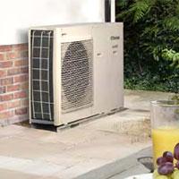 air & ground source heat pumps