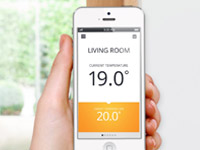 control your heating with the honeywell app